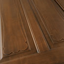 formelle - detail in alder stained antique dark walnut
