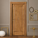 le cifre - door code 2-11 alder stained antique light walnut