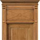 le cifre - door code 2-11 with chiambrana le cifre - alder stained antique light walnut