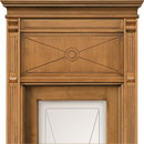 le cifre - door code 2-12 with chiambrana le cifre - alder stained antique light walnut