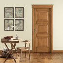 intarsio - door code 5-32 alder stained antique light walnut