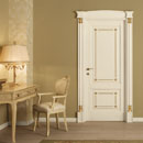 impero - door code Q-14 alder veneziana finish with gold details