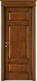 code 5-31 alder stained antique dark walnut - formelle doorhead with smooth casings