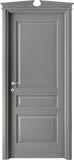 code 5-30 alder grey lacquered finish - broken gable doorhead with standard casings