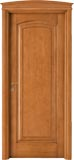code 3-11 alder stained antique light walnut - bowed doorhead with standard casings