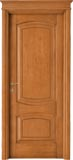 code 6-14 alder stained antique light walnut - flat doorhead with standard casings