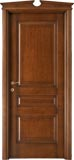 code 5-30 alder stained antique dark walnut - broken gable doorhead with standard casings