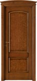 code 3-14 alder stained antique dark walnut - bowed doorhead with standard casings