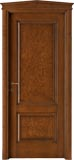 code 2-14 alder stained antique dark walnut - gable doorhead with standard casings