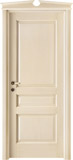 code 5-30 alder veneziana finish - broken glabe doorhead with standard casings