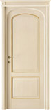 code 8R-14 alder veneziana finish with gold profiles - flat doorhead with turned blocks and standard casings