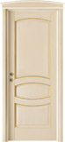 code 6-17 alder veneziana finish with gold profiles - bowed doorhead with standard casings