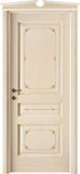 code 5-30 alder veneziana finish with filetti decor - broken gable doorhead with standard casings