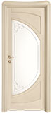 code C-51 alder veneziana finish - glass with etched decor