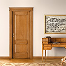 prima - door code P-14 tulipwood antique light walnut