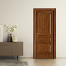 prima - door code P-30 tulipwood stained dark walnut