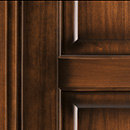 prima - detail in tulipwood antique dark walnut