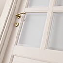 prima - door detail code P-16 tulipwood lacquered Ral