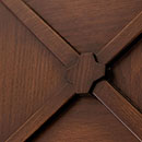 riqudri - door detail code R-33  in oak antique dark base finish