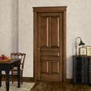 rovinìo - door code 5-50 alder stained antique dark walnut