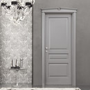 i laccati - door code 5-30 alder grey lacquered finish
