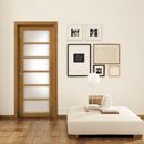 legni & lacche - door code L-20 alder stained light walnut