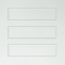 satin white glass - bevel detail rectangles